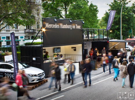 Daimler AG HH Pop-Up-Store / MWB Theater- und Veranstaltungs GmbH Berlin