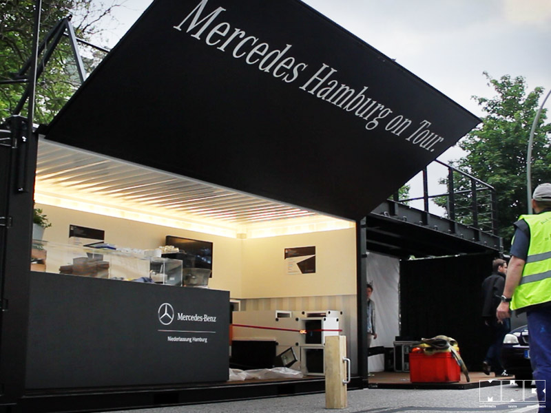 daimler ag popup store. Black Bedroom Furniture Sets. Home Design Ideas