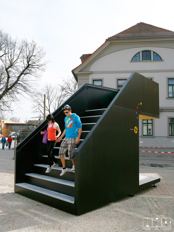 MWB Berlin – Anschläge – Treppen
